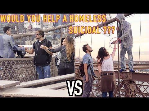 Rich VS Poor SUICIDE Experiment! (SHOCKING REACTION)