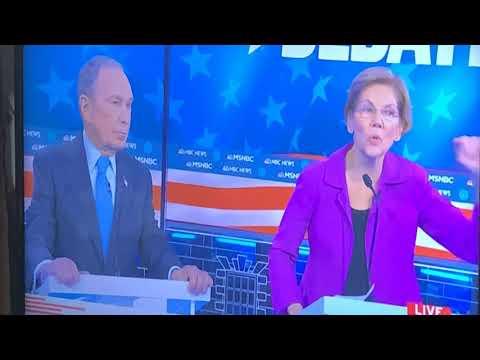Mike Bloomberg Gets Piled On About #MeToo NDAs At MSNBC Democratic Debate Then Sanders Saves Him