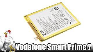 Guía del Vodafone Smart Prime 7: Cambiar batería
