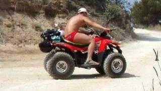 QUAD DRIVING!!:) Zante, Zakynthos!!