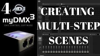 ADJ myDMX 3: Creating Multi Step Scenes
