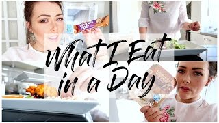 WHAT I EAT IN A DAY | MAMA REID