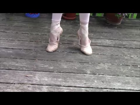 How to turn your old pointe shoes into ballet slippers