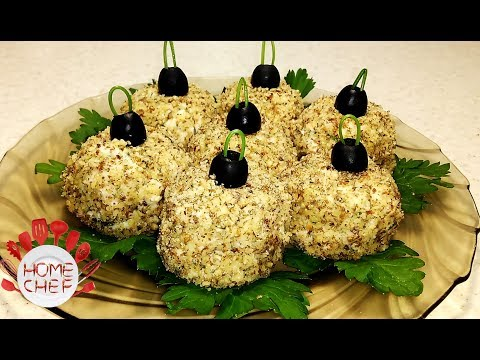 CHRISTMAS APPETIZER | EASY CHICKEN SALAD BALLS