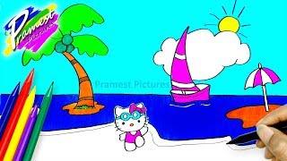 Gambar Anak Tk Pantai