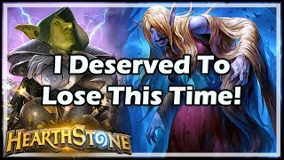 I Deserved To Lose This Time! - Boomsday / Constructed / Hearthstone