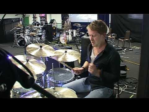 Karl Brazil at the Jobeky UK Custom Drum Festival