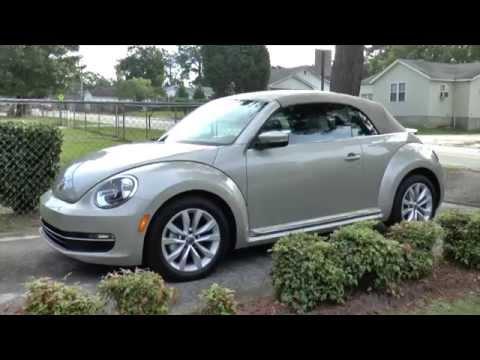 Best Detailed Walkaround 2014 VW Beetle Convertible TDI