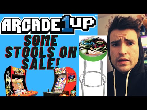 ARCADE1UP STOOLS ON SALE from Brick Rod