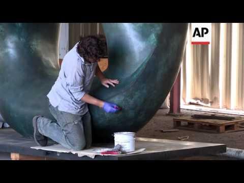 Jeddah's world famous sculptures restored