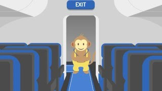 MonkeyGo – the inflatable travel seat for children