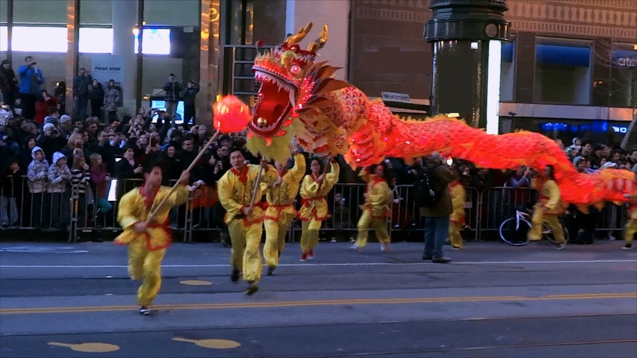 chinese new year parade 2013 san francisco compilation youtube - Chinese New Year San Francisco