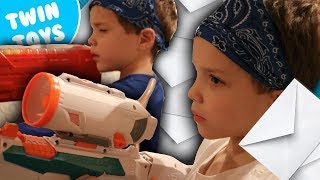 Nerf War:  Mail Time Mayhem 42 | Twin Toys