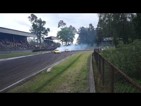 Lithuanian drifters TRIO on Latvian track