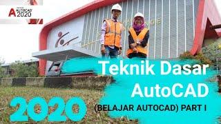 Download Tutorial Autocad Untuk Pemula || Belajar Mudah Autocad || Teknik Dasar Autocad Part I