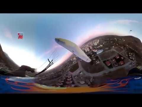 Birde Boyle Bakn   Yamac Parasutu VR 360