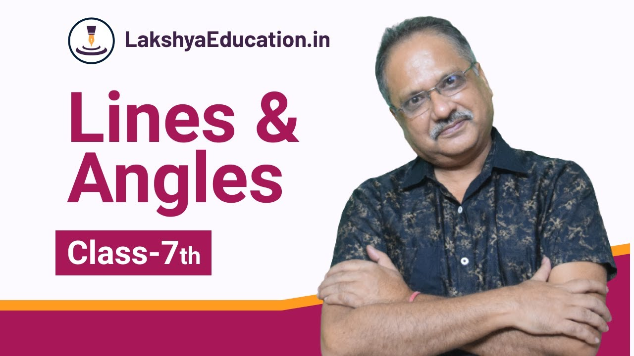 Class-7th-Maths- Lines and Angles - YouTube