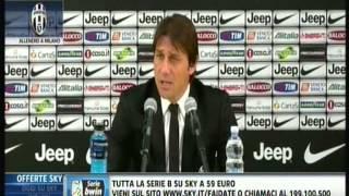 Conte: io all'Inter? Mai dire mai!!!!! Sono il primo tifoso di chi mi paga.