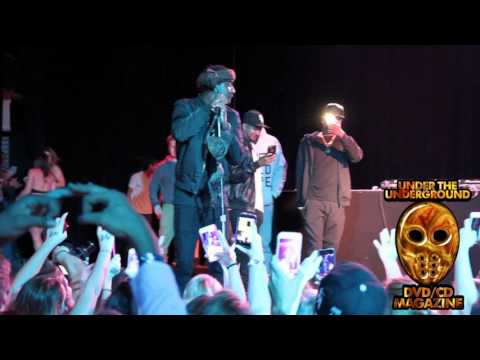 K Camp - Comfortable Live Performance A Fan Throws BRA On Stage