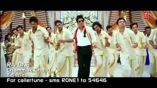 Chammak Challo Ra One ft Akon Shahrukh Khan Kareena