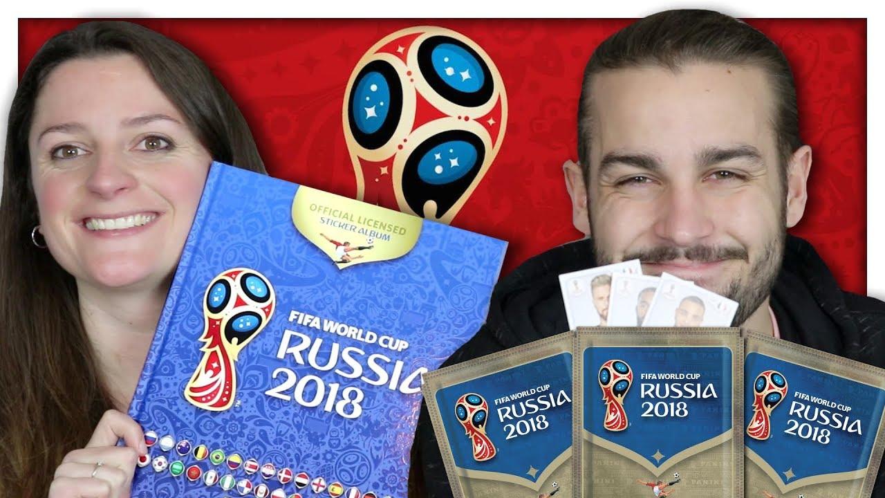 panini coupe du monde 2018 allez les bleus youtube