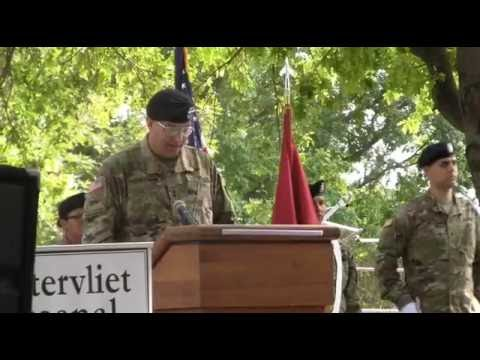 Arsenal Change of Command and Interview with Col. Lee Schiller