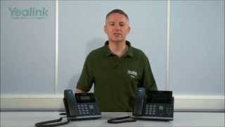 YeaLink SIP-T42G & SIP-T46G VoIP telefoons