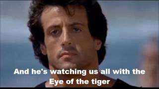 Eye of the tiger Karaoke