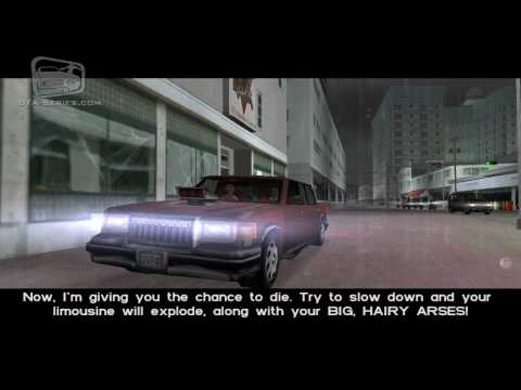 GTA Vice City - Walkthrough - Mission #29 - Publicity Tour (HD)