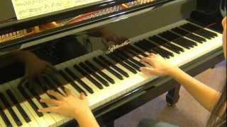 曲婉婷(Wanting)-我的歌声里 you exist in my song (piano cover) Tutorial