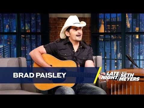 "Brad Paisley Performs a Remix of ""She"