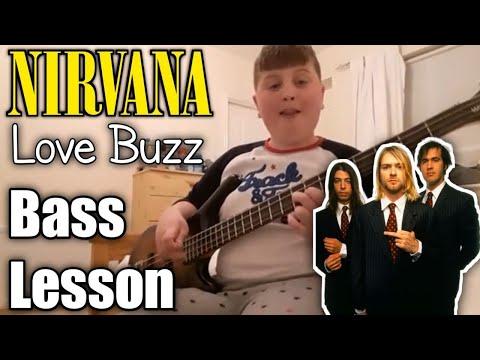 Nirvana Love Buzz Bass Tutorial