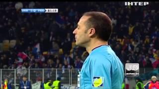 Украина 2 0 Франция Плей офф Чемпионата Мира 2014 по футболу