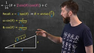 Trig Subs  |  How To Choose The Substitution & Deal With Indefinite Integrals