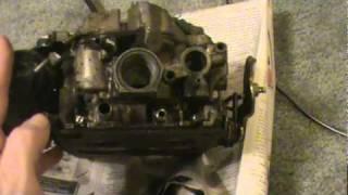 how to adjust carburetor mixture screws