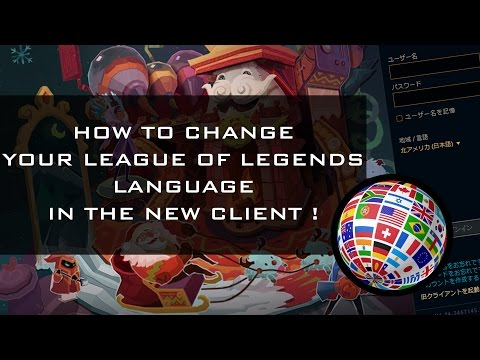 league of legends change language