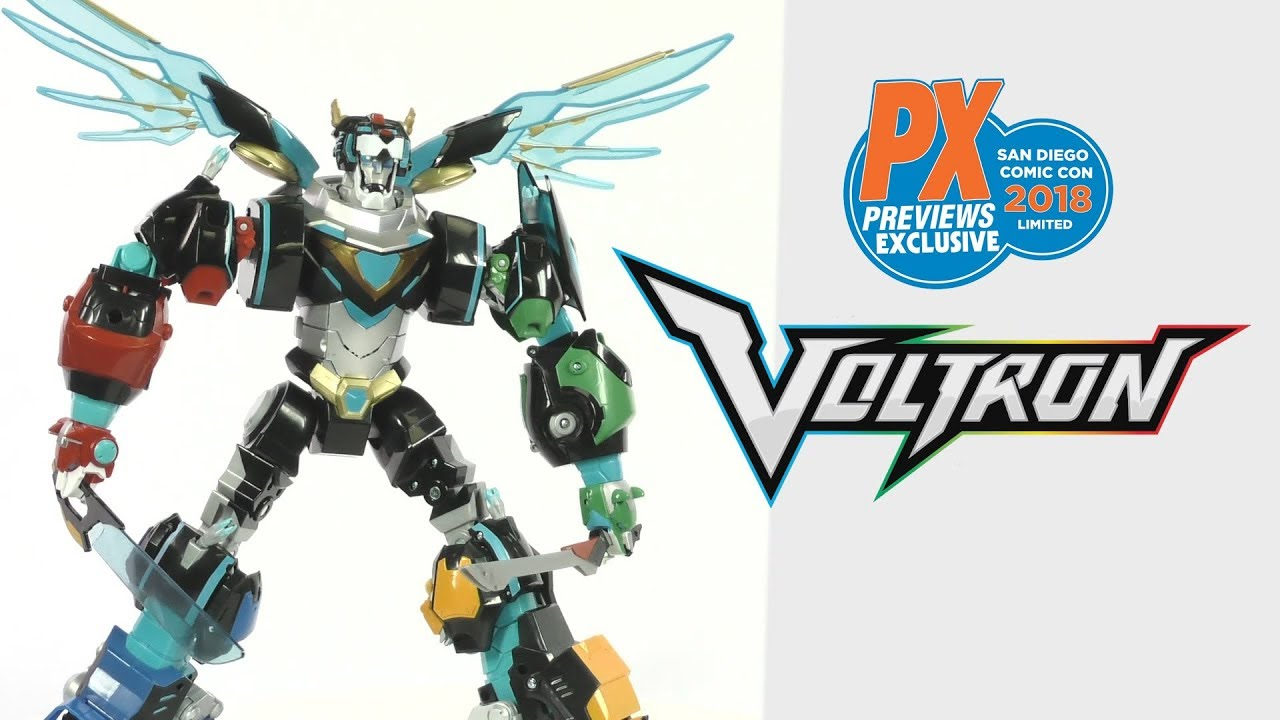 SDCC 2018 Voltron Hyperphase PREVIEWS Exclusive Gift Set