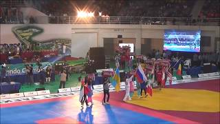 Taekwondo открытие Чемпионата Мира, Корея Муджу 2015.