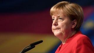 German's Merkel calls for ban on full-face veils