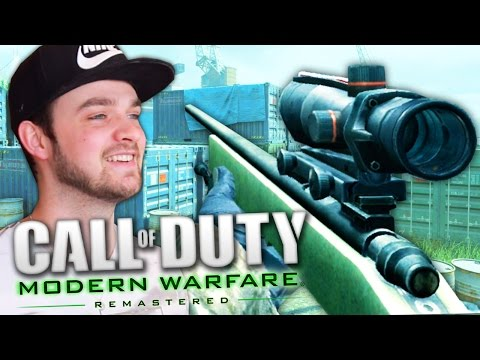 THE BEST CALL OF DUTY RETURNS! (Modern Warfare Remastered LIVE w/ Ali-A)