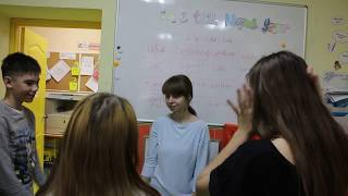 Урок английского у подростков.