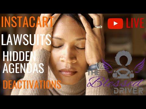 Live: Instacart Deactivations, Lawsuits, Changes