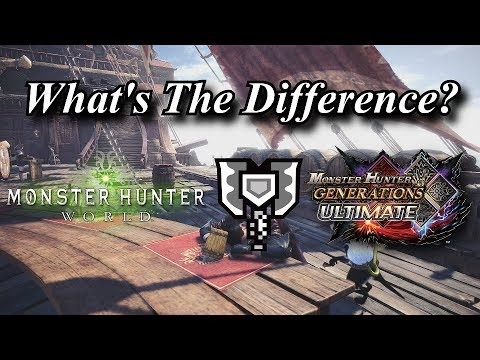 MHWorld to MHGU | Charge Blade | What's The Difference?