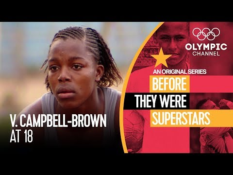 Veronica Campbell-Brown Before Winning 8 Olympic Medals | Before They Were Superstars