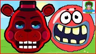 - НАС НАШЕЛ ФРЕДДИ. Новый Красный шарик Red ball 4 volume 5 смотреть как мультик для детей от Фаника