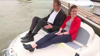 Le premier bateau électrique de France sillonnera la Lys tout l'été