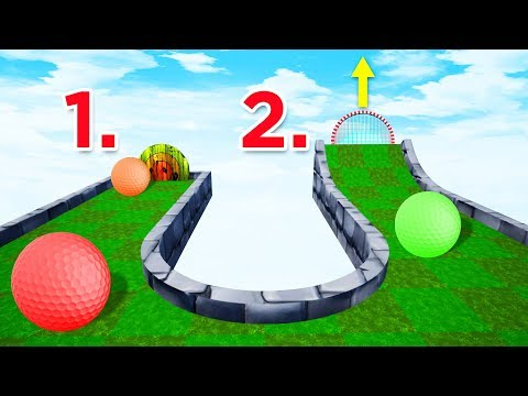 Hit The Target To TRIGGER The Hole! - Golf It