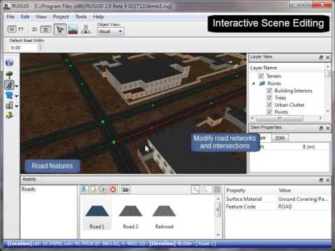 Rapid Unified Generation of Urban Databases (RUGUD) Demo | Virtual Heroes