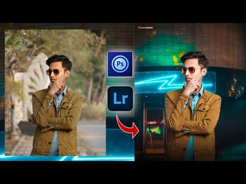 Realistic Photo Manipulation Tutorial Photoshop Touch Mobile || Lightroom New Photo Editing 2021