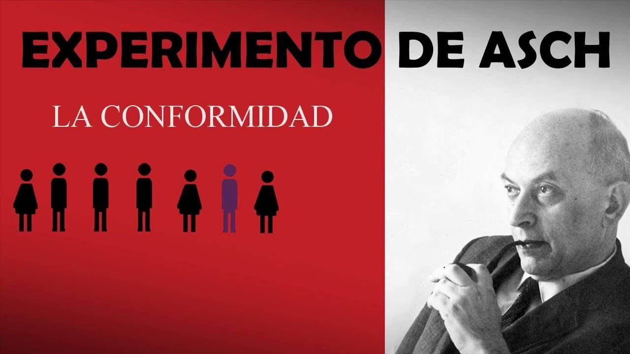 EXPERIMENTO DE ASCH LA CONFORMIDAD - YouTube